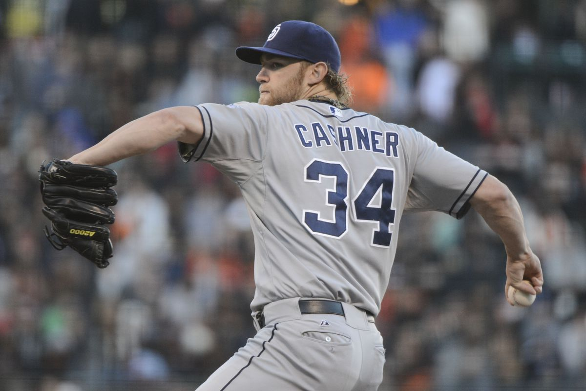 The Cubs front office dealt Cashner to the Padres two offseason ago.
