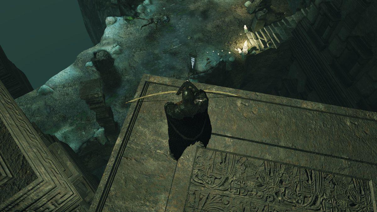 Dark Souls 2 Crown of the Sunken King - tower of prayer 5