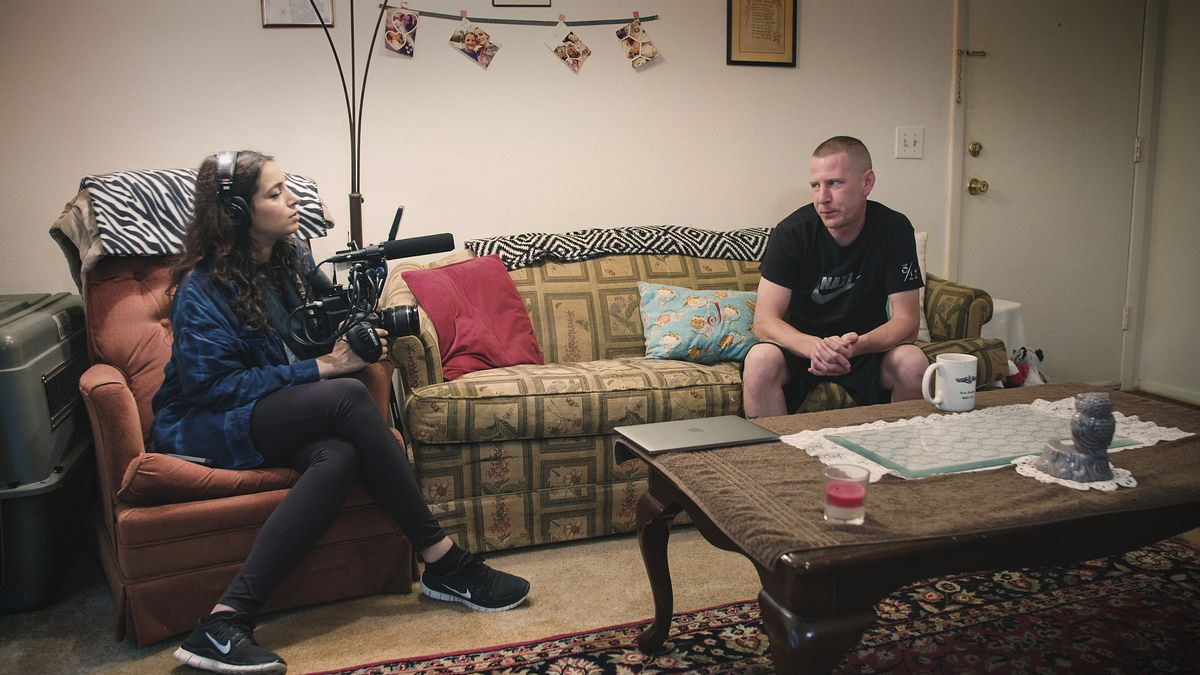 Filmmaker Deeyah Khan sits down with white supremacist Ken Parker in White Right: Meeting the Enemy. Parker has since left the neo-Nazi movement.