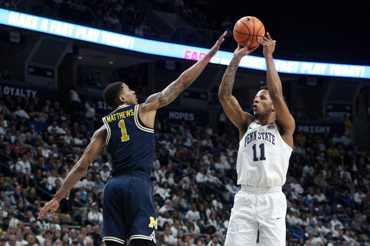 NCAA Basketball: Michigan at Penn State
