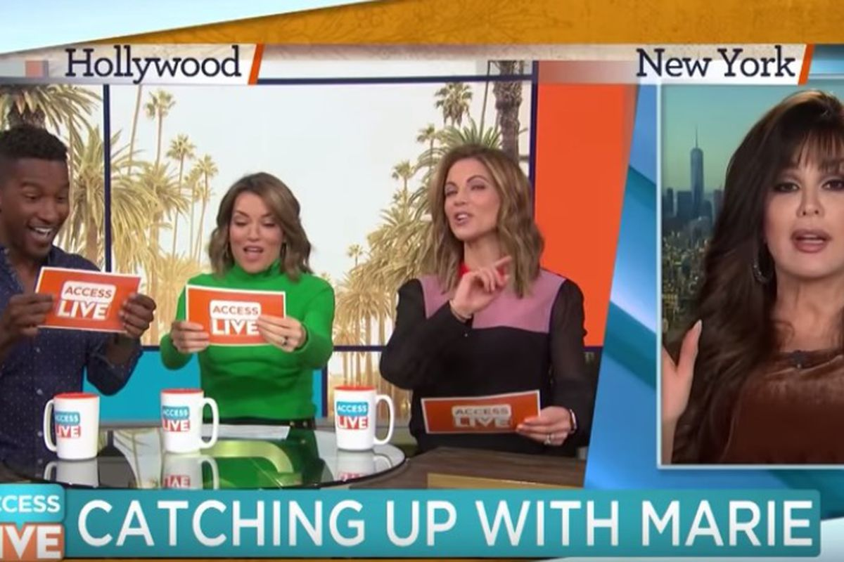 """Marie Osmond speaks with """"Access Live"""" about her brother and may have spoiled """"The Masked Singer."""""""