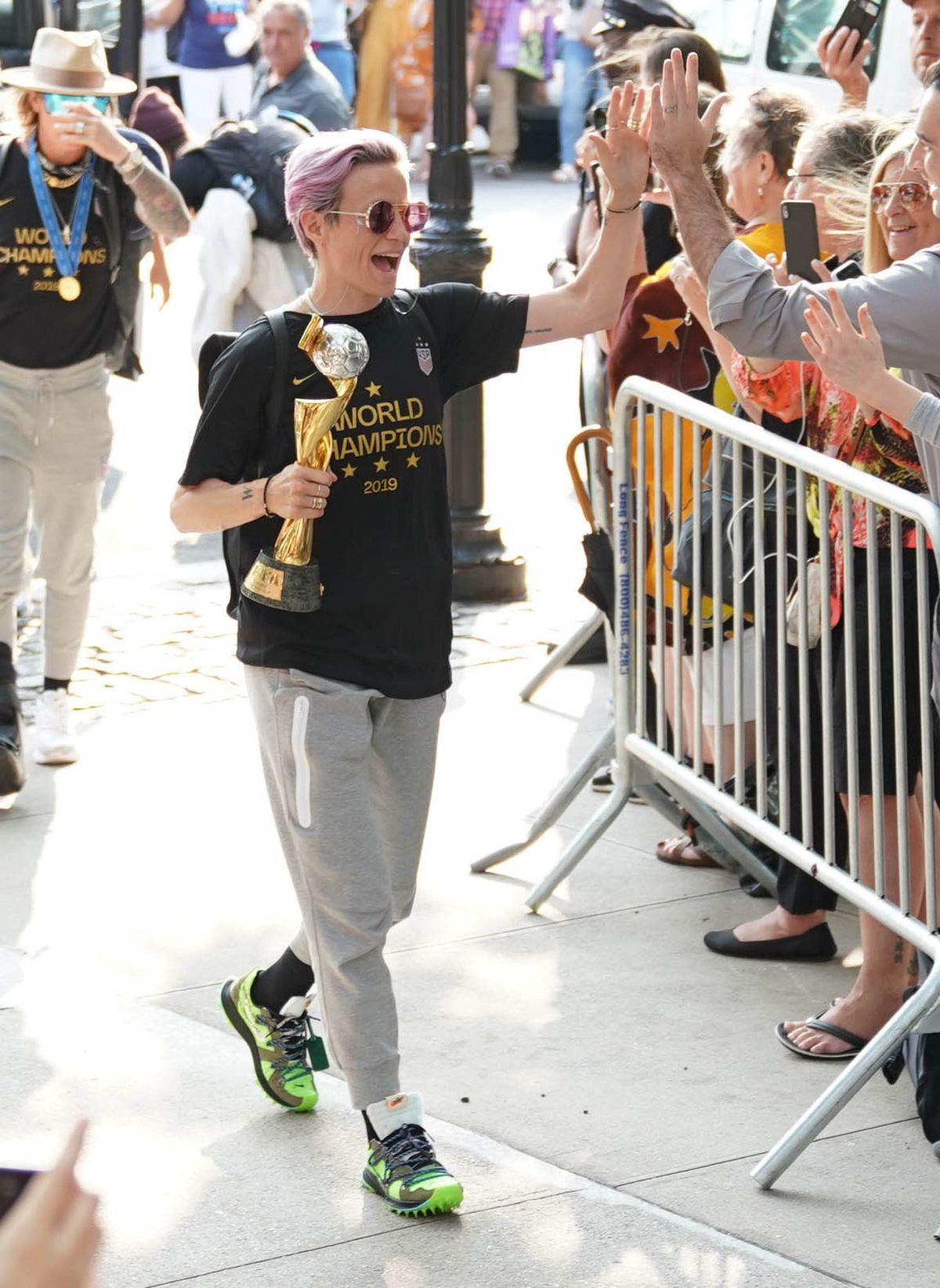 Celebrity Sightings In New York City - July 8, 2019