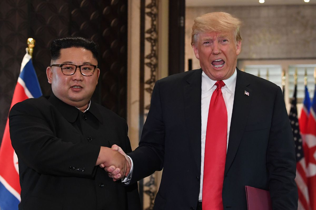 Trumps Meeting With Kim Jong Un Resulted In A Fairly Big Set Of Concessions To North Korea Experts Say Saul Loeb Afp Getty Images