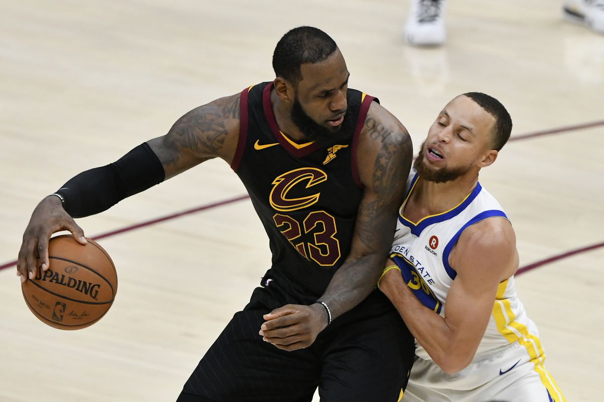 reputable site f6b69 cf70c LeBron James lays out the importance of basketball IQ in beating the  Warriors