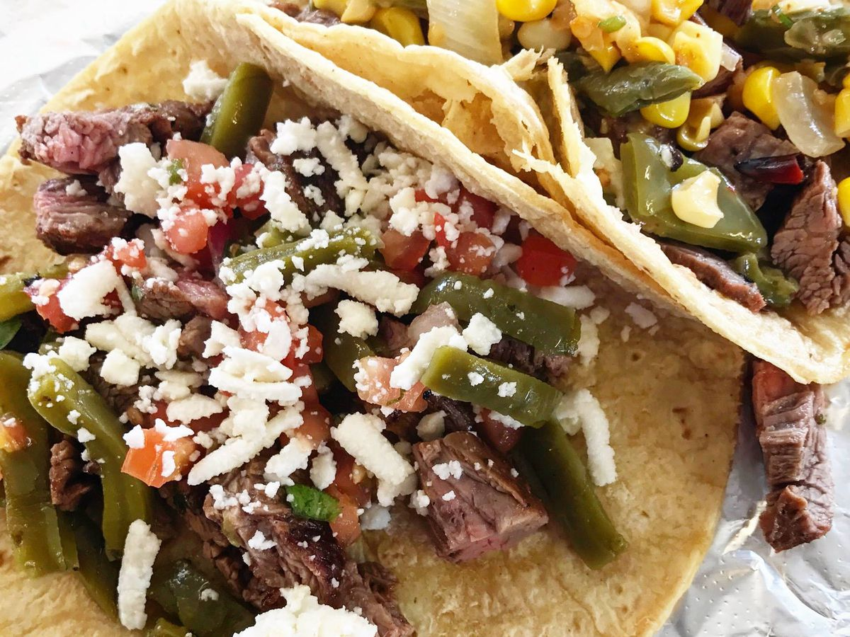 Tacos from El Chilito