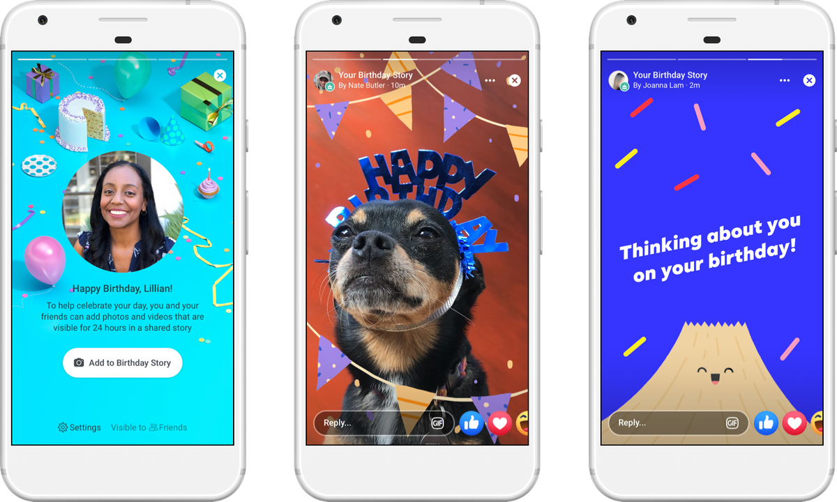 Facebook Adds New Digital Birthday Cards As Part Of Its Push Into