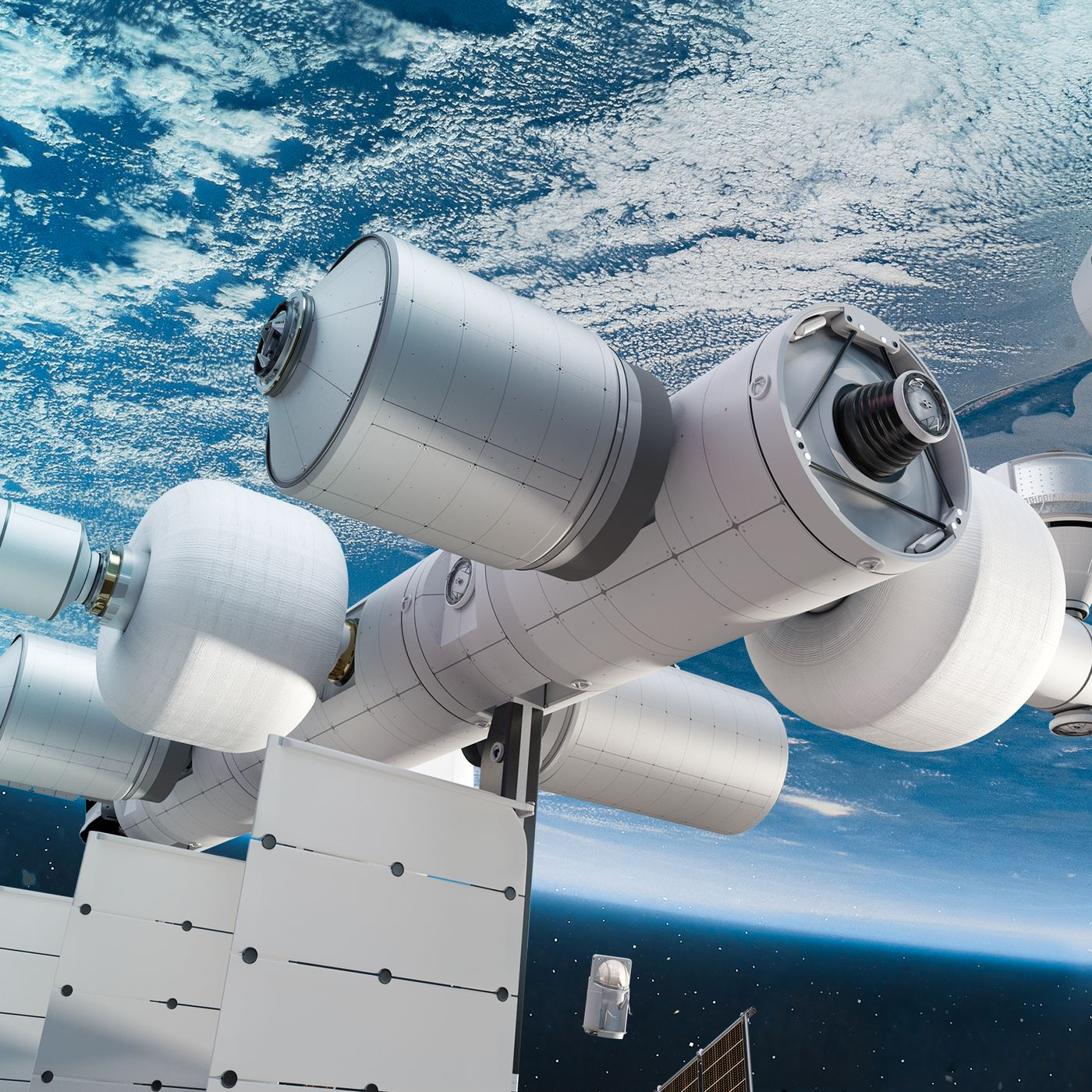 theverge.com - Loren Grush - Blue Origin unveils plans for future commercial space station called Orbital Reef