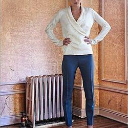 Zhanna blouse, Deena pants