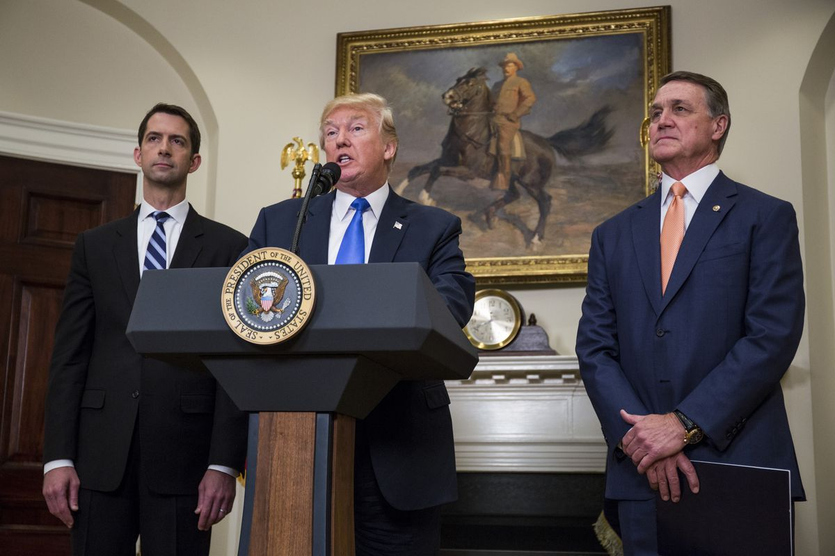 Sens. Perdue and Cotton: Trump did not make inflammatory immigration comments