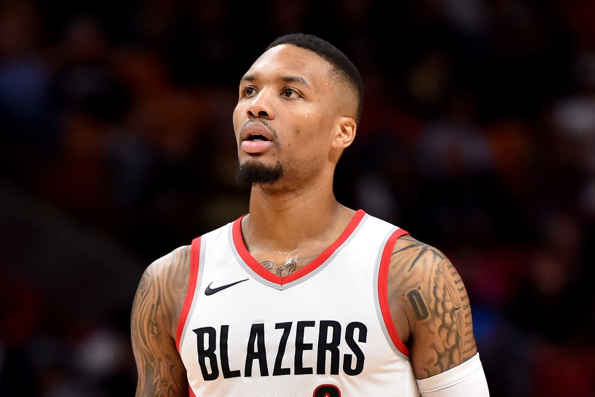 more photos 14ba9 32356 Damian Lillard Lags Behind in First Round of 2018 NBA All ...