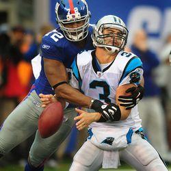 Separating Matt Moore from the football in 2010