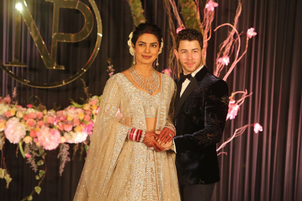 044ddec5db1 Priyanka Chopra and Nick Jonas at their wedding reception in December 2018.  Manoj Verma Hindustan Times Getty Images The Goods