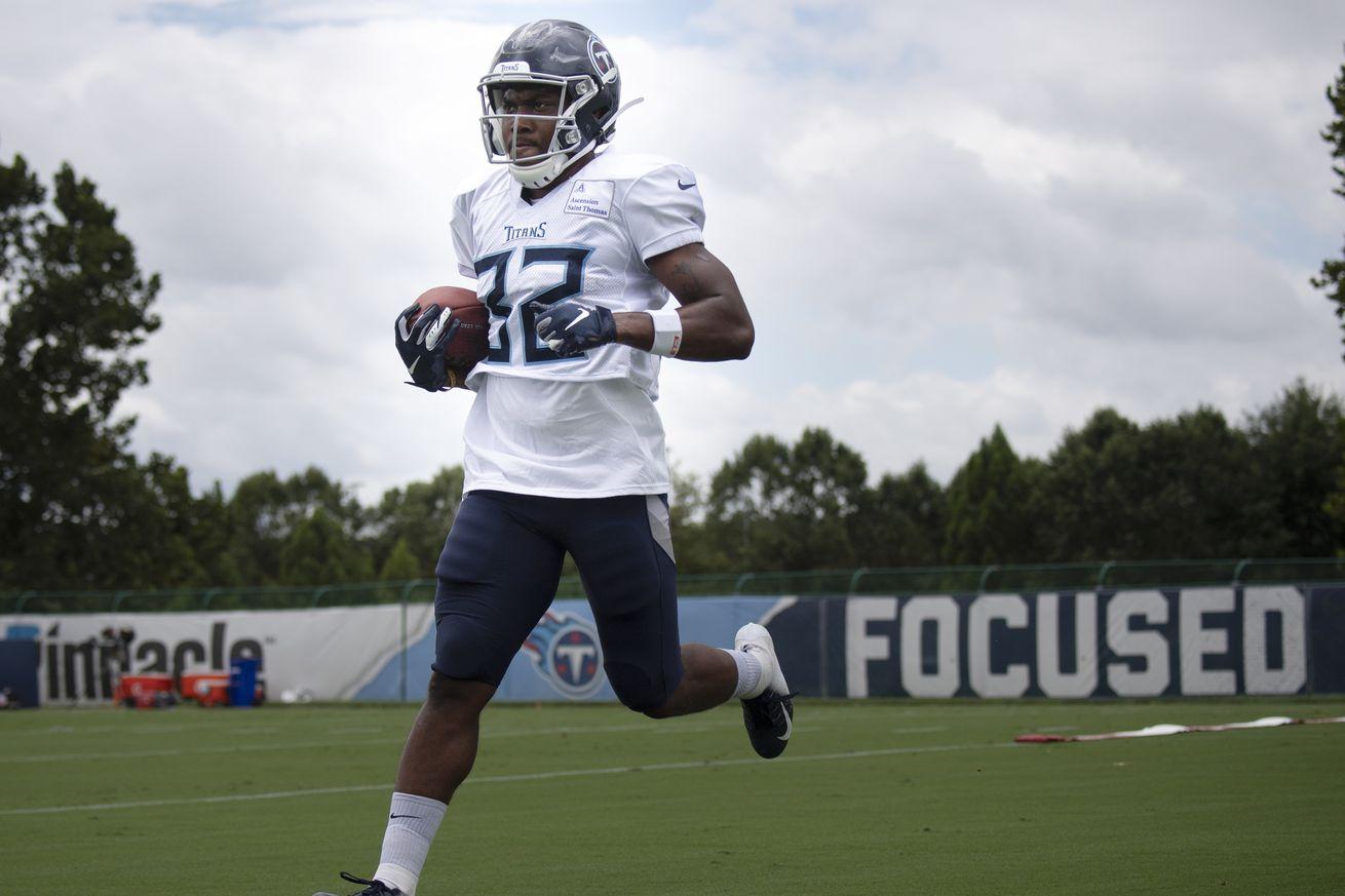 NFL: Tennese Titans Practice