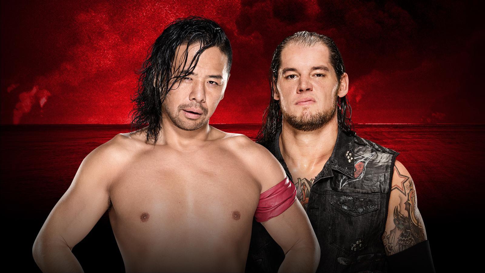 Image result for Shinsuke Nakamura corbin WWE Battleground