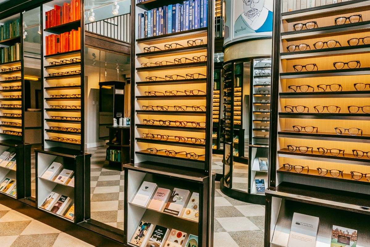 Warby Parker's Upper East Side store