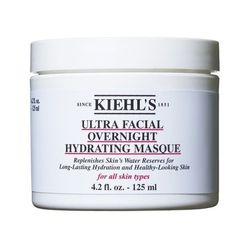 """<strong>Kiehl's</strong> Ultra Facial Overnight Hydrating Masque, <a href=""""http://www.kiehls.com/Ultra-Facial-Overnight-Hydrating-Masque/3601,default,pd.html?start=1&cgid=face-cleansers-scrubs"""">$35</a>"""