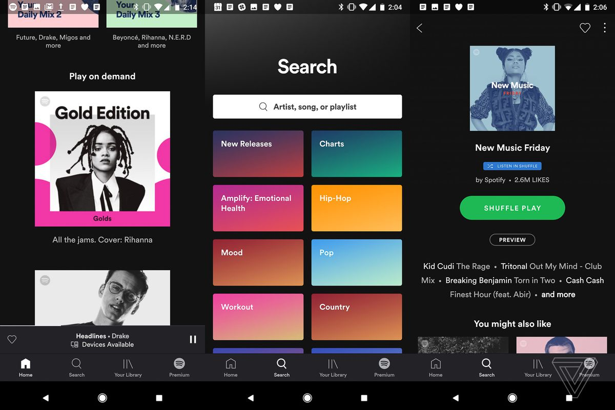 Spotify is preparing this redesign for free users - The Verge