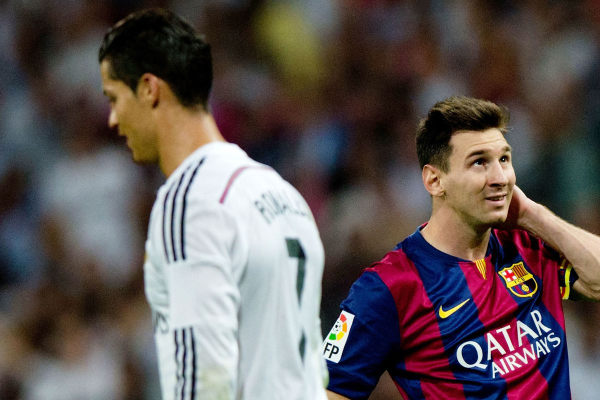 CR7 and Messi