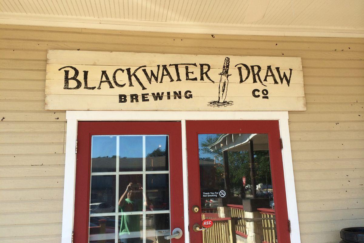 Blackwater Draw sign