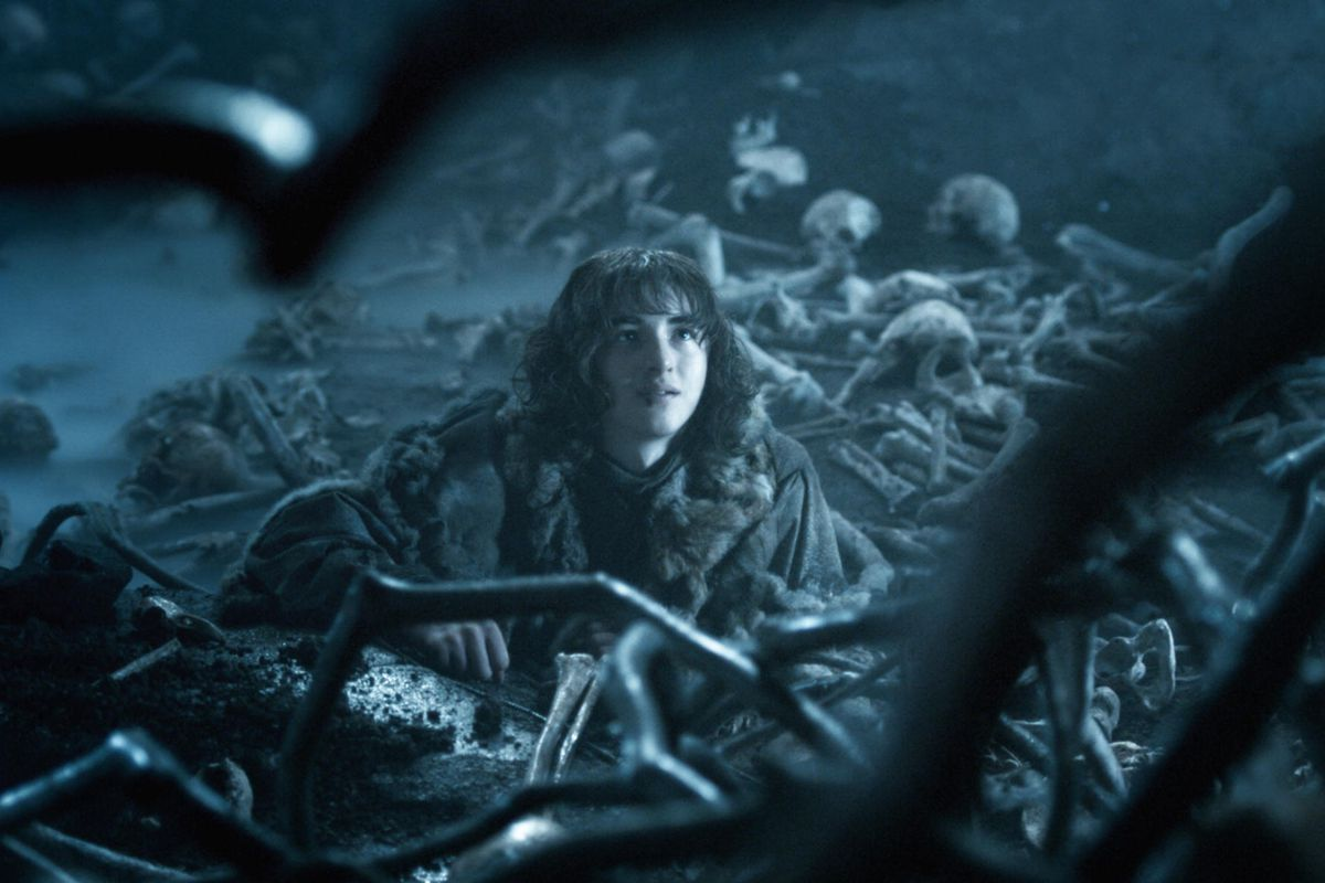 Bran (Isaac Hempstead-Wright) might be gone for now, but he'll be back. He'll be back.