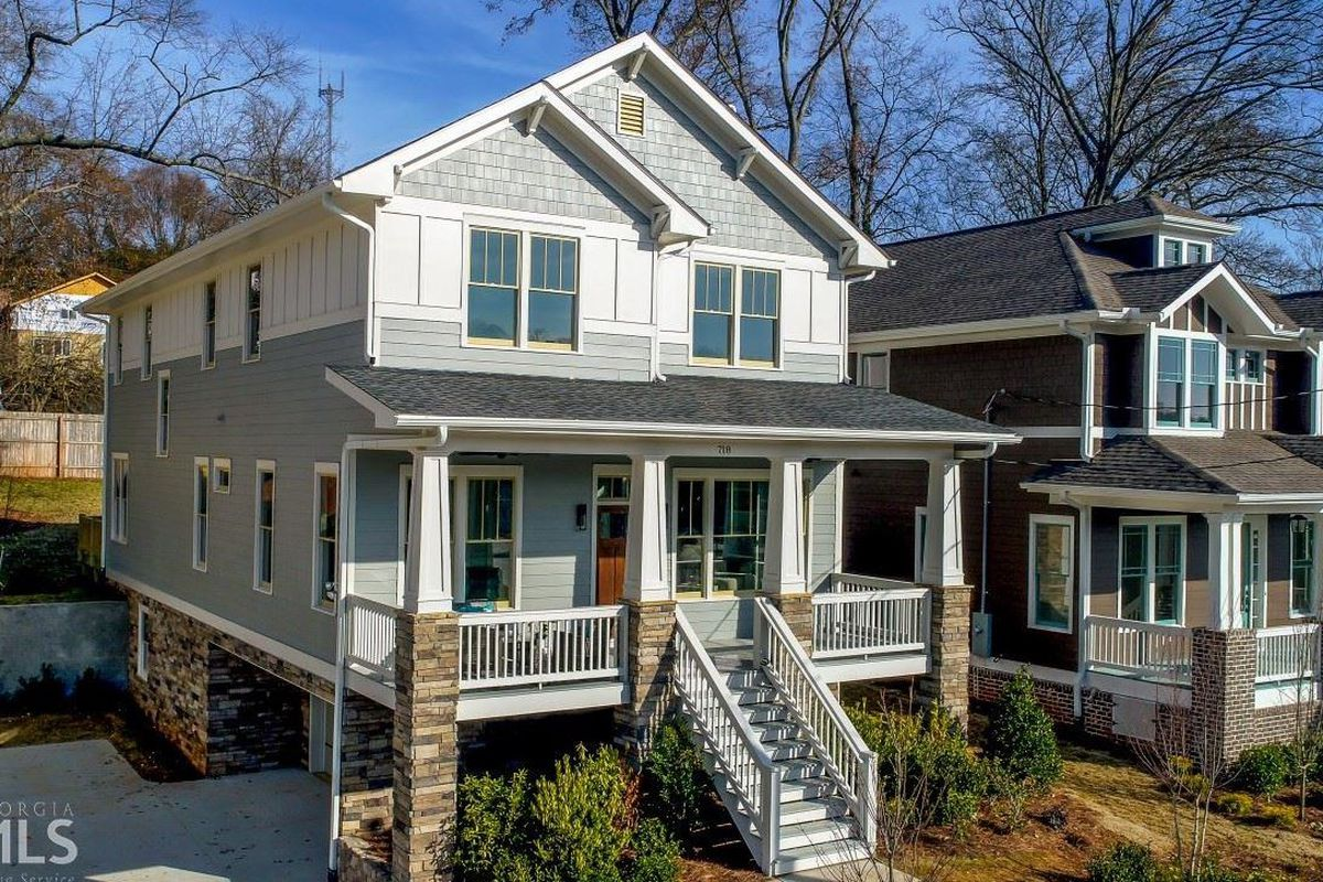 A photo of a new home for sale in Grant Park Atlanta right now.