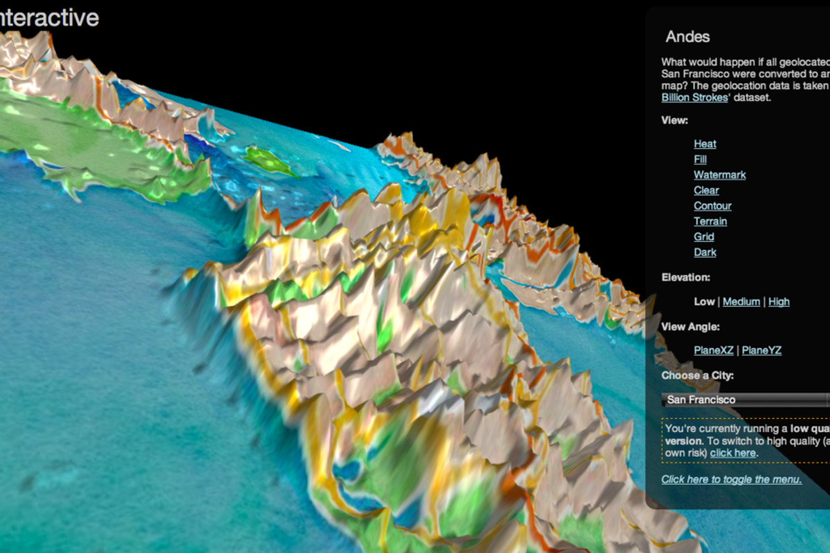 Twitter Visualizes Billions Of Tweets In Artful Interactive 3d Maps
