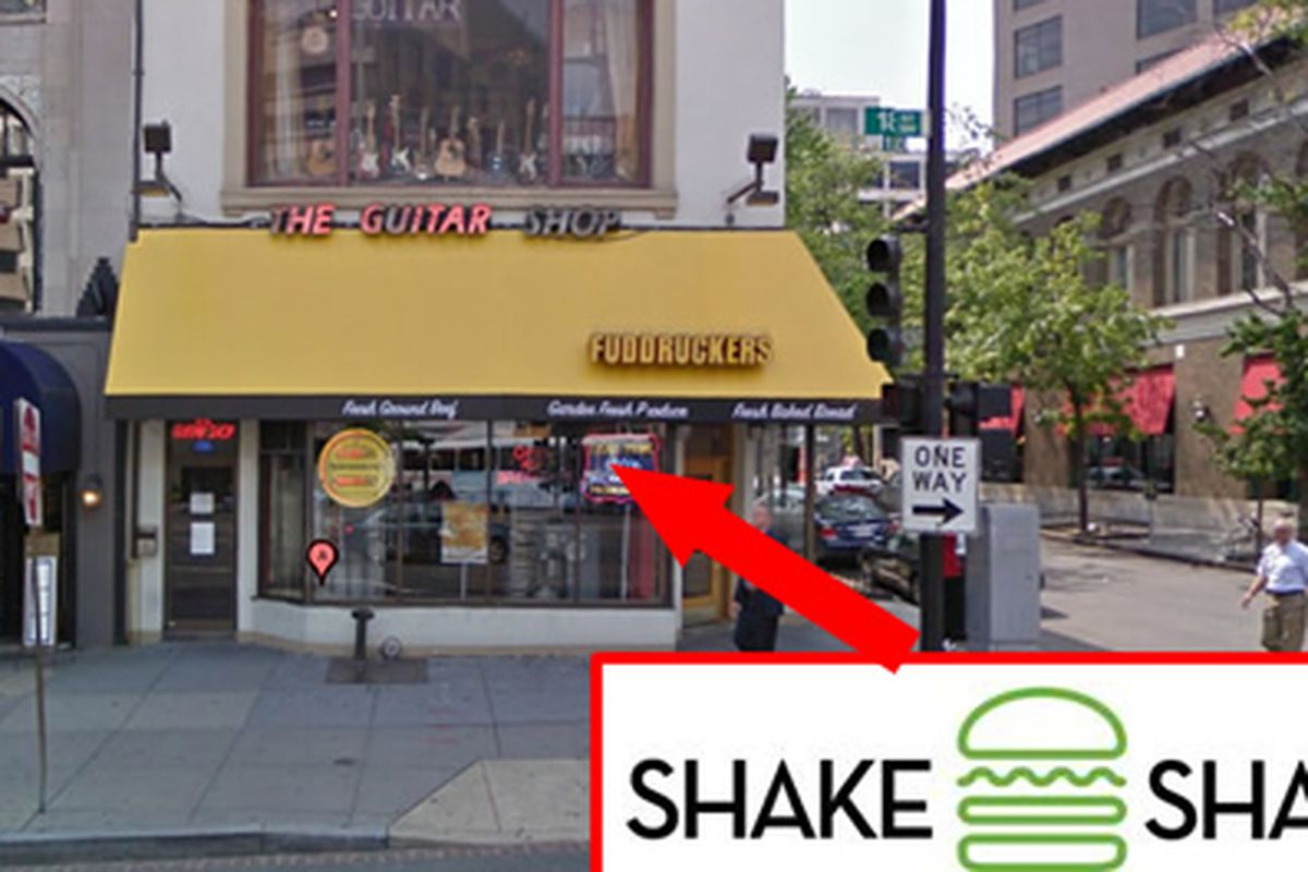 Probable future location of Shake Shack DC.