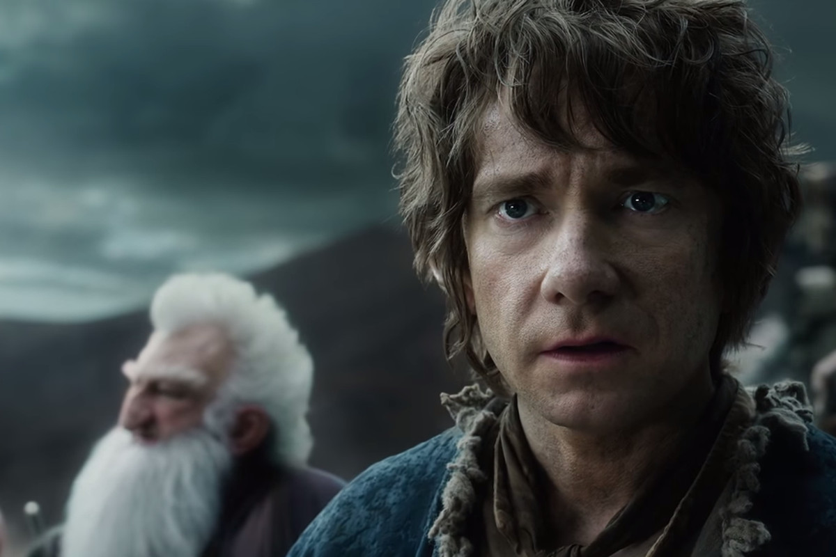 Martin Freeman plays Bilbo Baggins in The Hobbit: The Battle of the Five Armies. (And the other two Hobbit films. But you probably knew that.)