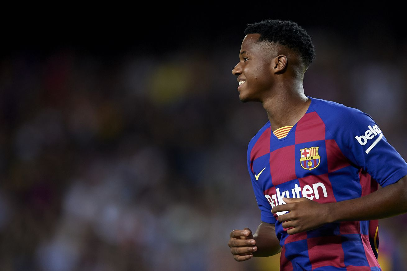 Ansu Fati gets Spain U21 call-up after Carles Perez drops out