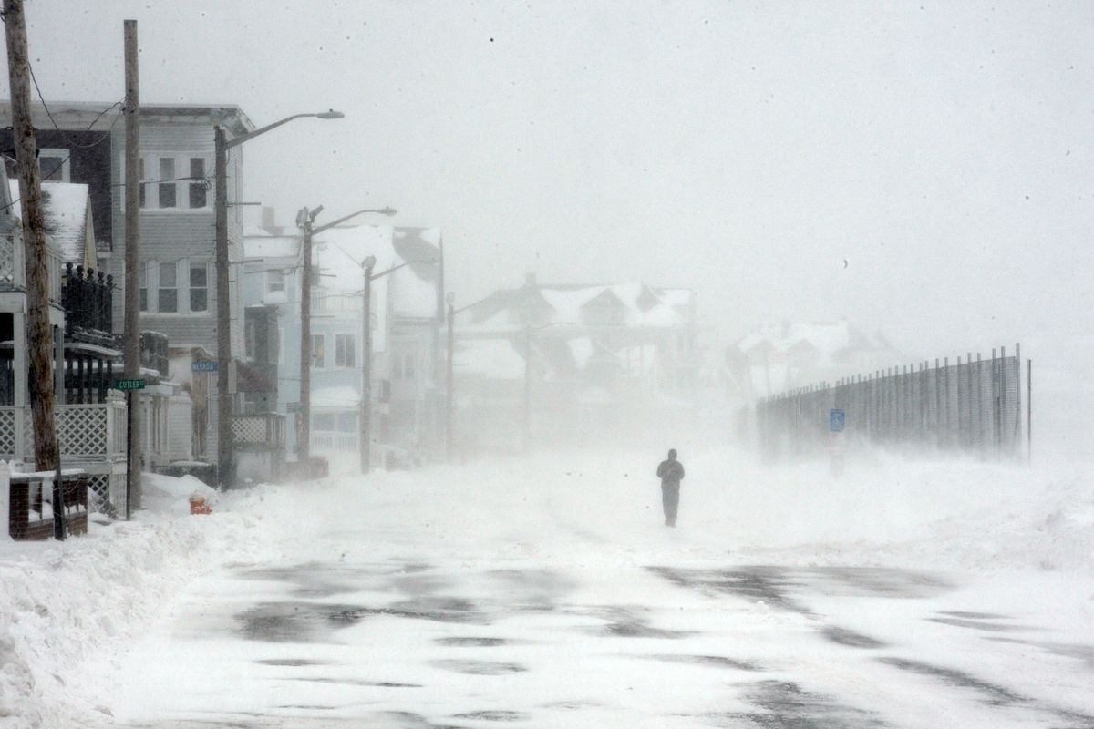 Snow hits the American northeast, and so-called moderate Muslims are silent.