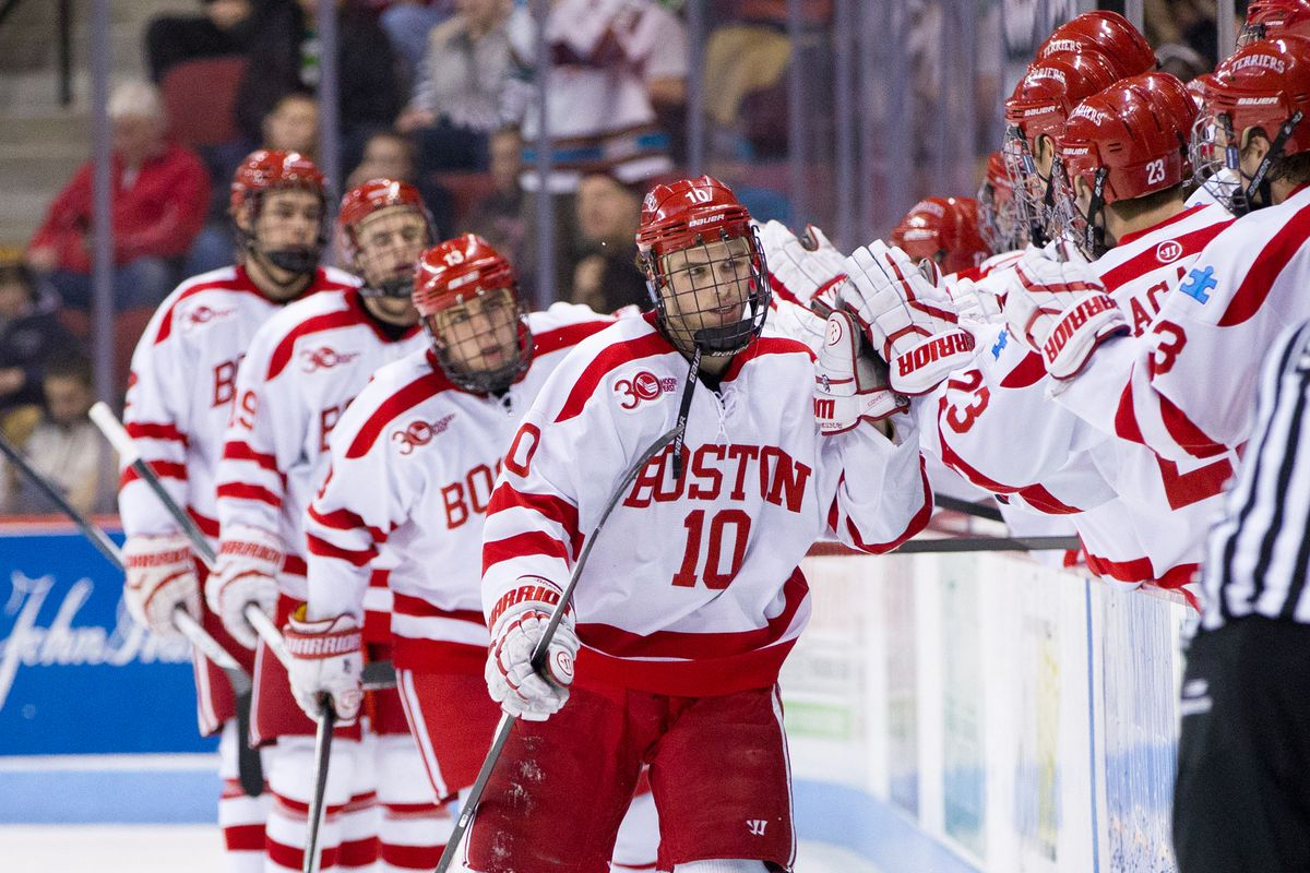 Wisconsin will host Boston University for a non-conference series Jan. 9-10.