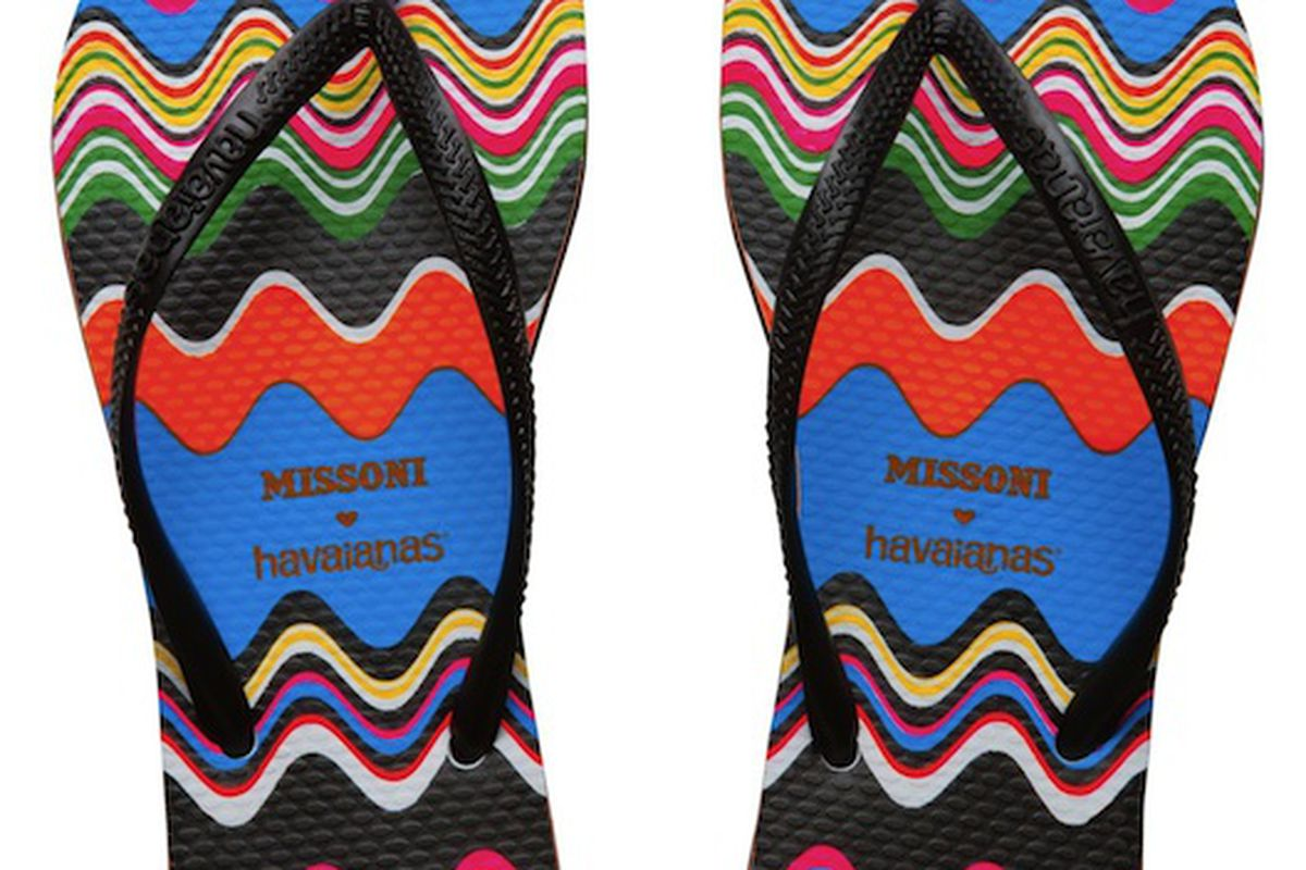 0e0aff209cfbd Missoni for Havaianas Flip-Flops and Espadrilles Coming This May ...