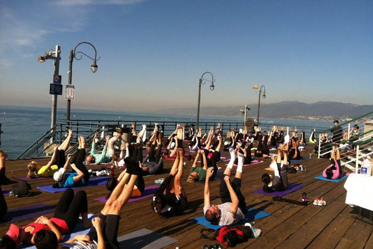 """Photo via the SaMo Pier/<a href=""""https://www.facebook.com/TheSantaMonicaPier"""">Facebook</a>"""