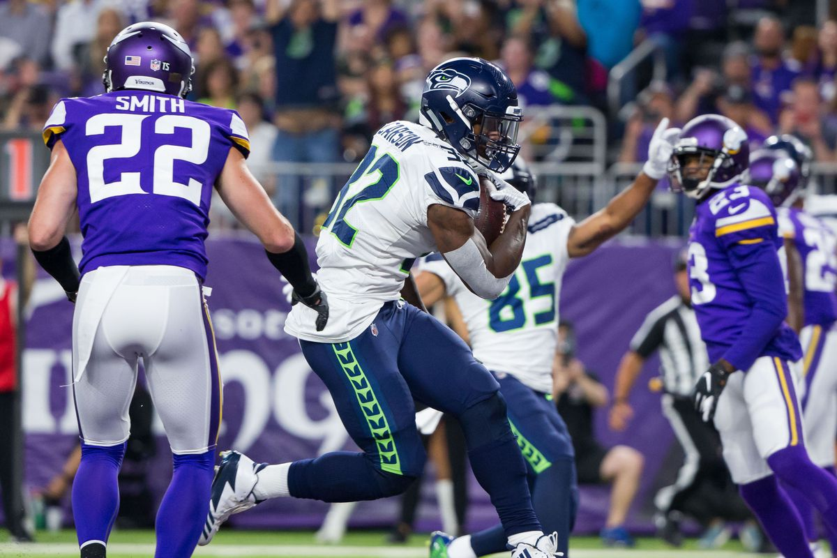 4a65d3ccc Seahawks-Vikings final score  Seahawks lose to Minnesota 21-20 on  last-minute touchdown