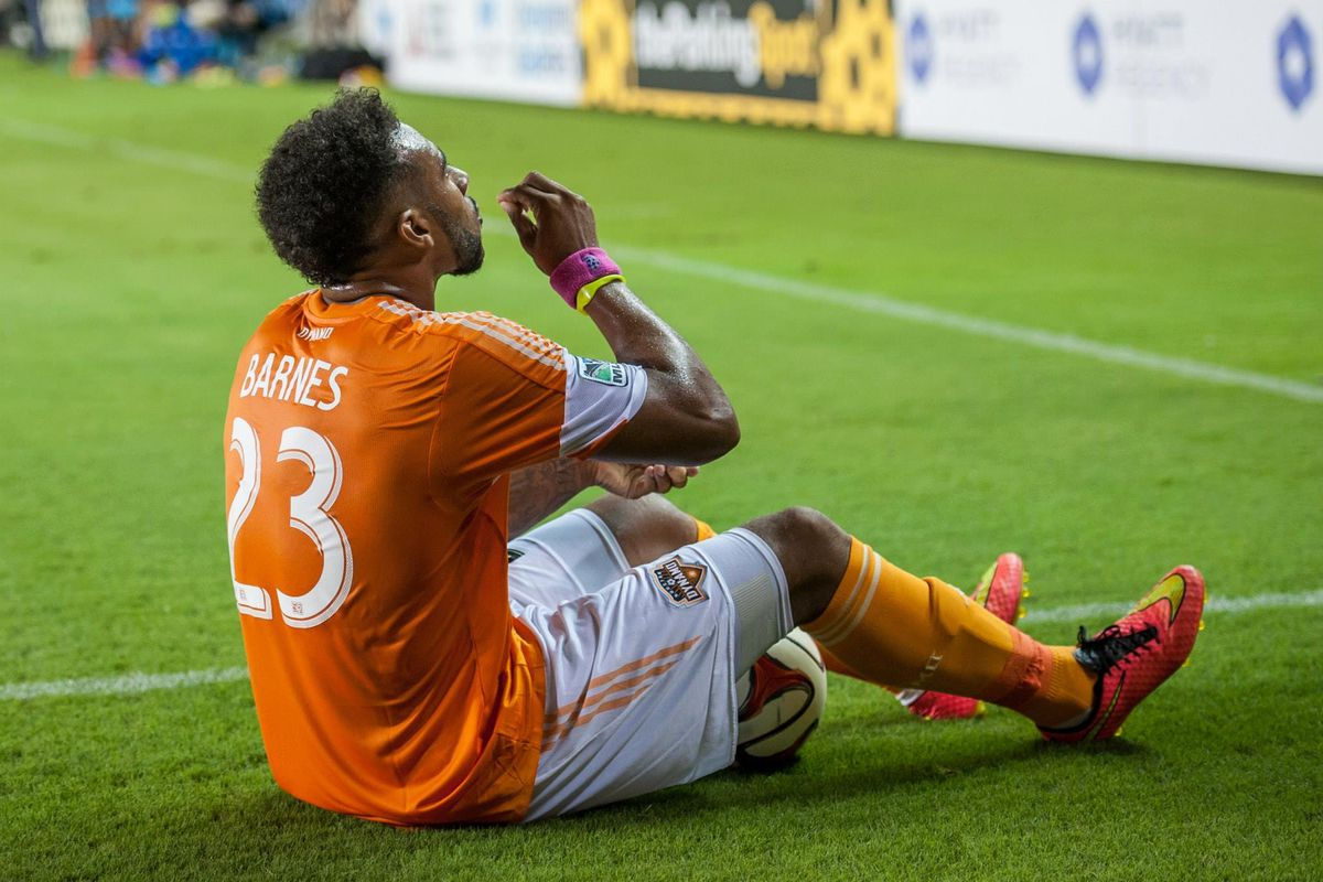 Giles Barnes wins the Creamsicle for Best Goal Celebration.