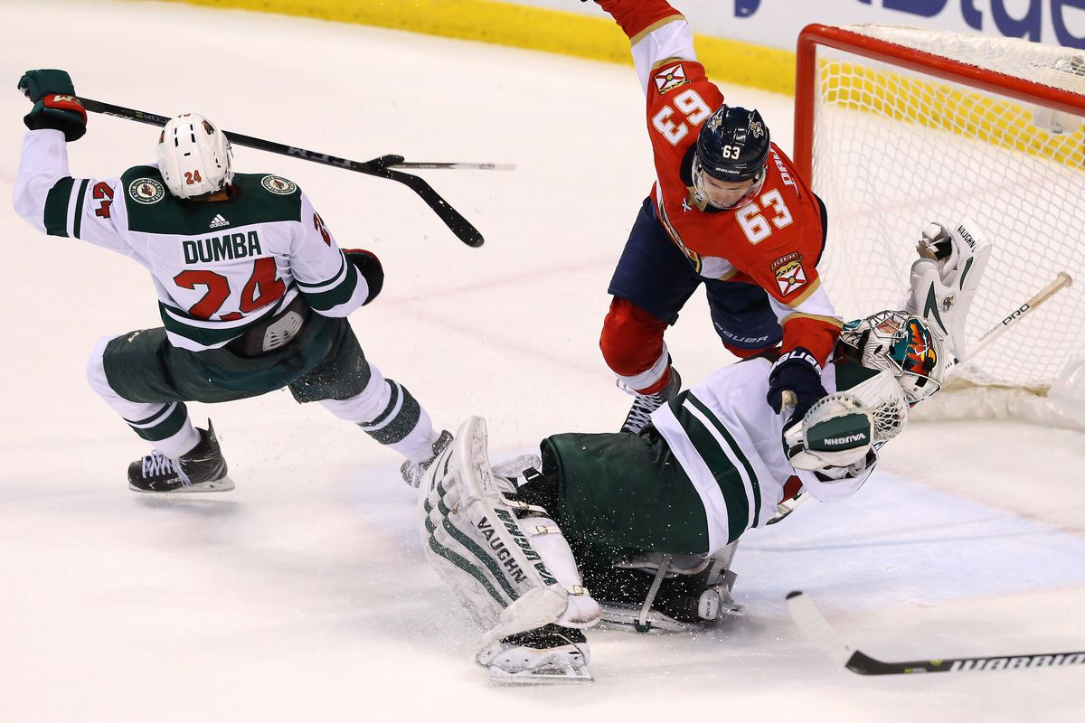 3-goal 3rd period lifts Florida Panthers over Wild - Hockey Wilderness