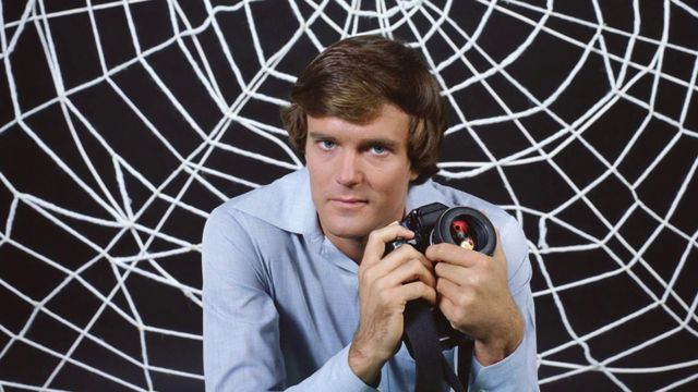 Publicity shot of Nicholas Hammond in the starring role for the 1977 TV series The Amazing Spider-Man on CBS