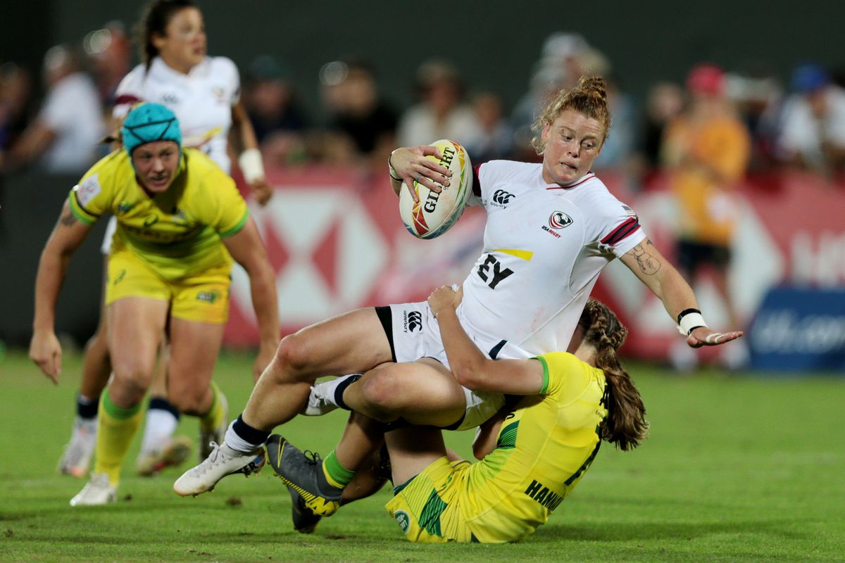 HSBC World Rugby Sevens Series - Dubai: Day Three