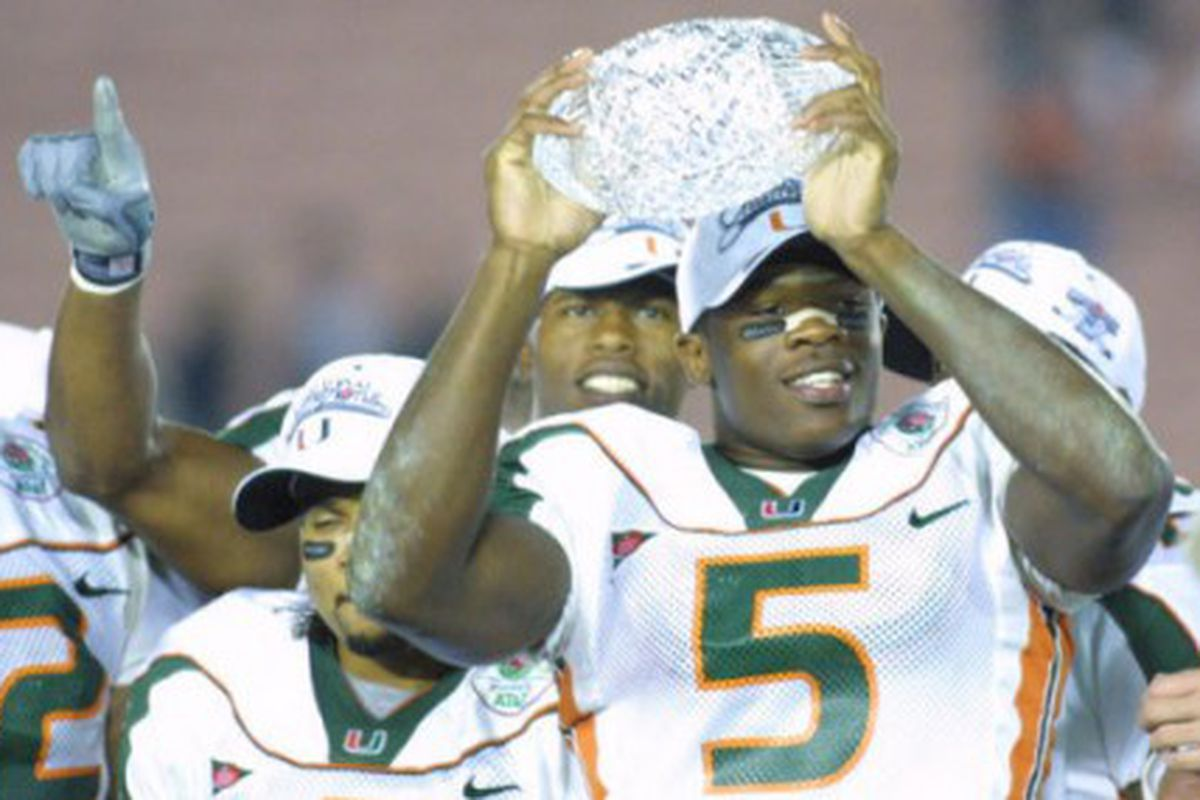 One of the best moments in Miami Football history