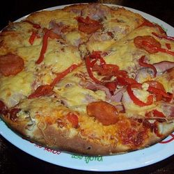 """This """"Dracula pizza"""" gave someone an allergic reaction. <a href=""""http://www.flickr.com/photos/beshoner/3287853343/"""">Flickr/The Bearded Seraph</a>"""
