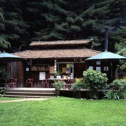 """<b>Henry Miller Memorial Library,</b> 48603 California 1, Big Sur—The name of the next stop on our day trip is a bit misleading because the <a href=""""http://www.henrymiller.org/"""">Henry Miller Memorial Library</a> is not really a library. It's actually a bo"""