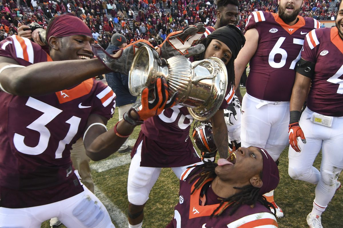 Virginia Tech Vs Virginia Streak Uva Hasn T Won Since When
