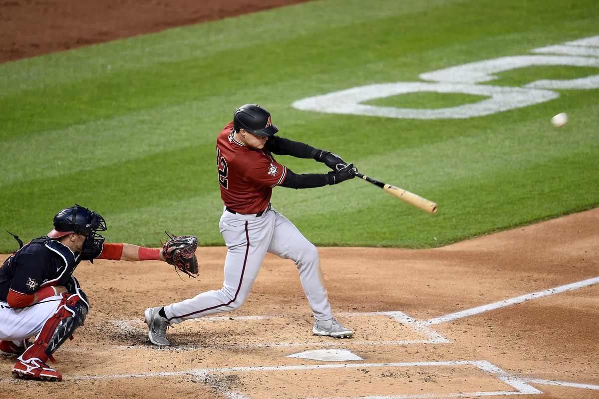 Andrew Young hit a grand slam against the Nationals.