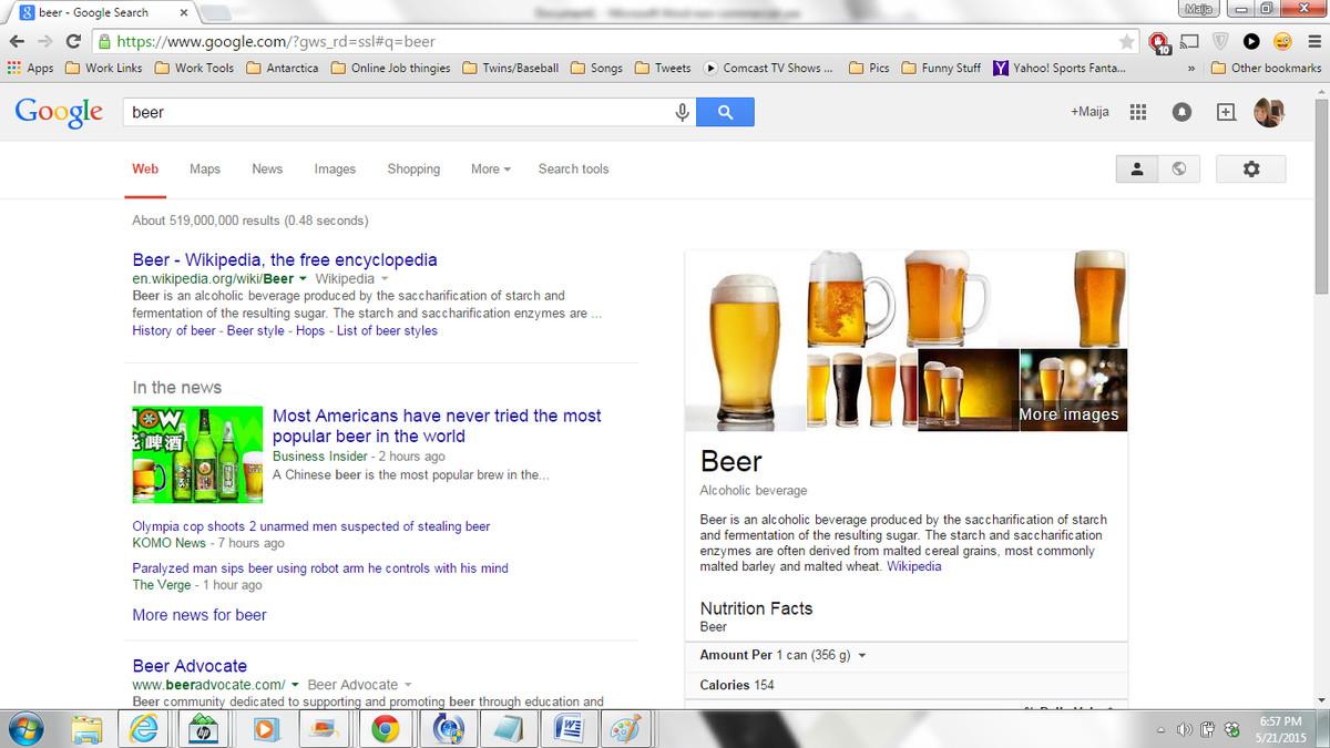 Kent Hrbek beer