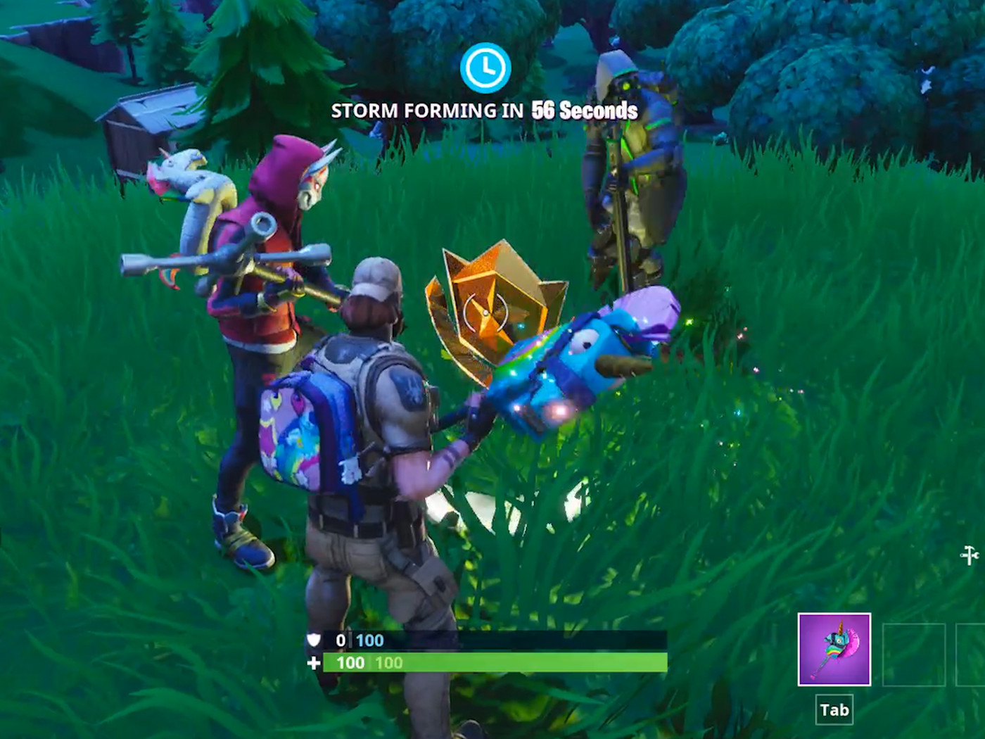Search Where The Stone Heads Are Looking Fortnite Week 6 Challenge