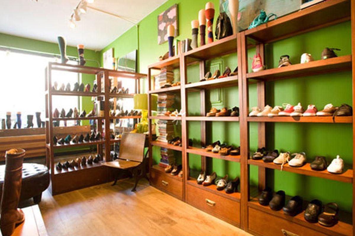 "The Shoe Market, minus Rob Bryn.  Image via the store's <a href=""http://shoemarketnyc.myshopify.com/"">website</a>"