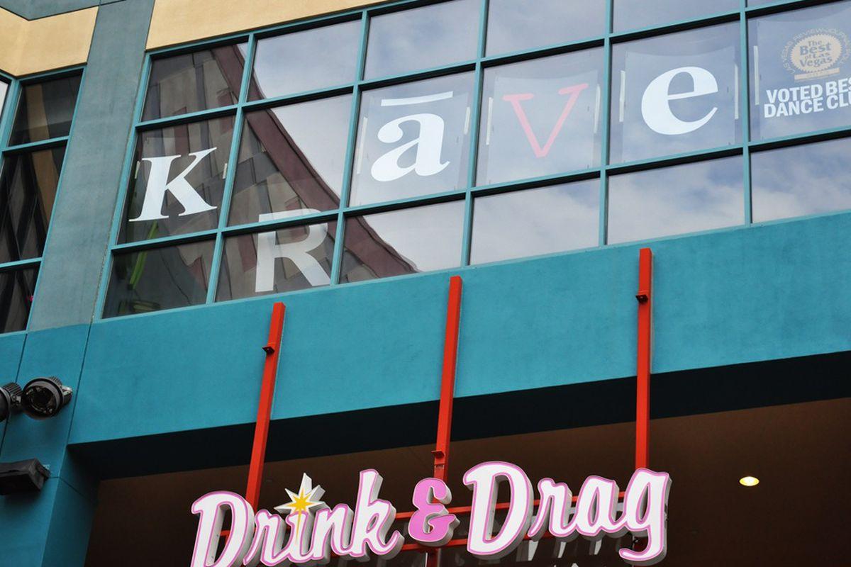 Krave Massive and Drink & Drag