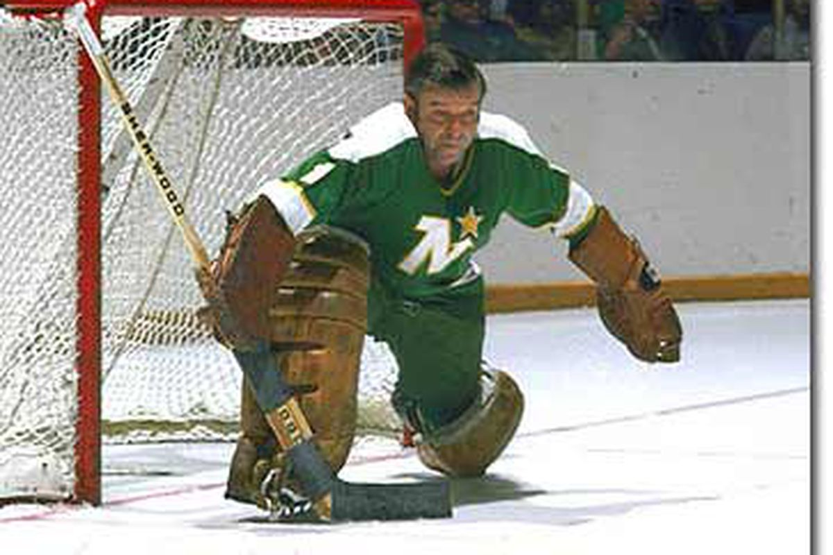 Gump Worsley played as goalie in the NHL without a mask.  In an unrelated note, Gump Worsley's orthodontist has a summer home in the Bahamas, and a winter chalet in Switzerland.