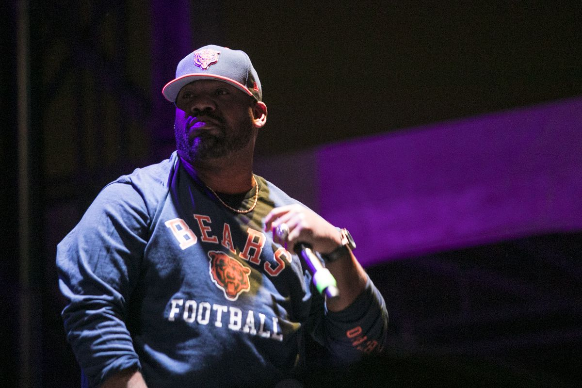 Raekwon, of Wu-Tang Clan, performs on day two of Riot Fest in Douglas Park, Sept. 16, 2017. | Ashlee Rezin/Sun-Times