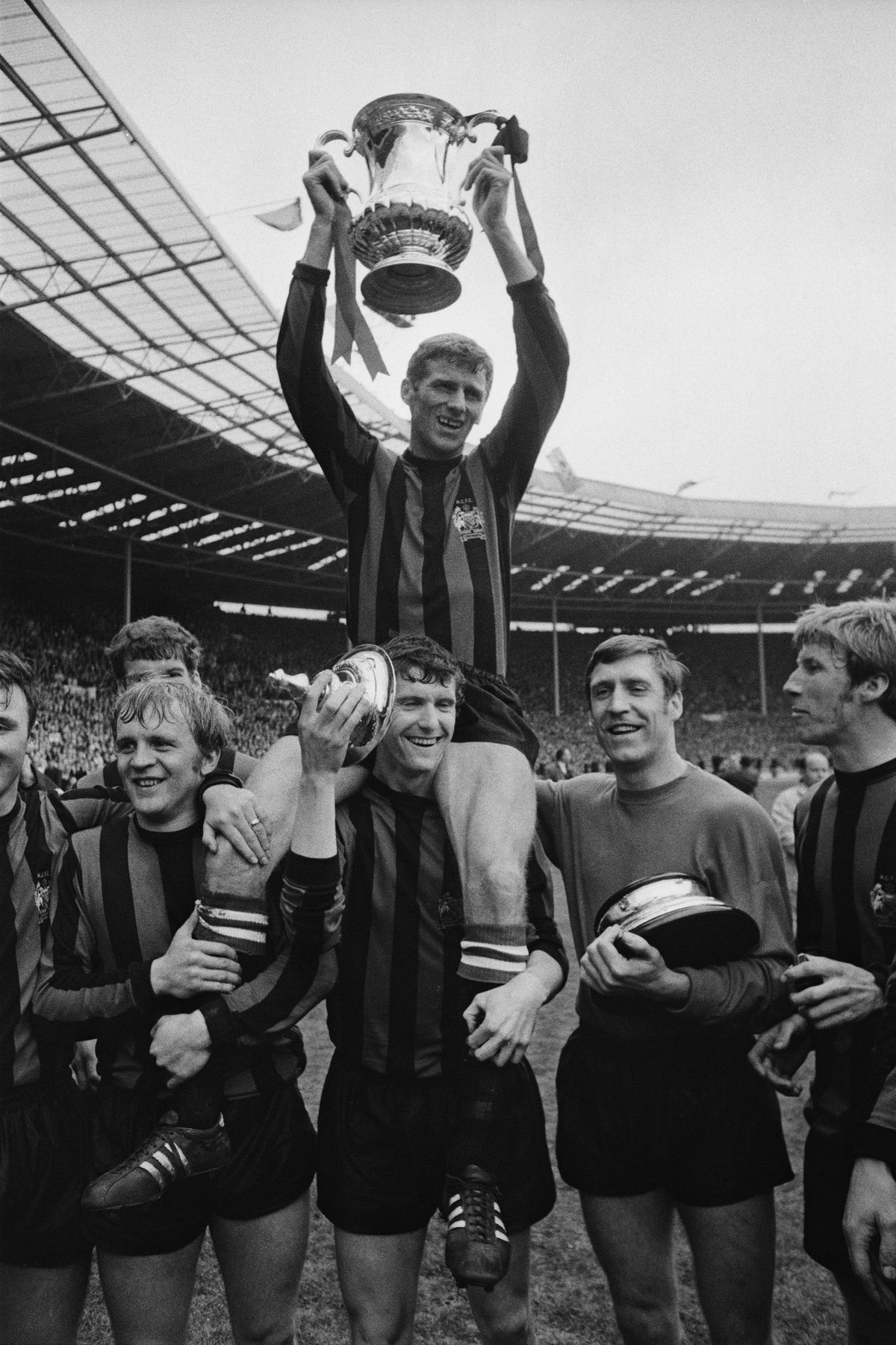 Manchester City Win FA Cup-1969